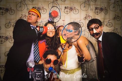 portfolio 11/12  - El flash de Lineta - Fotomatón & photocalls vintage - Bodas y Eventos