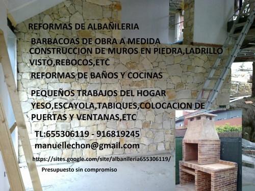 portfolio 6/6  - Barbacoas de obra a medida 655306119