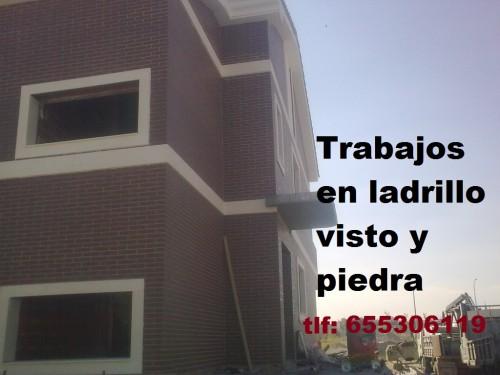 portfolio 5/6  - obra nueva ladrillo CARA VISTA 655306119