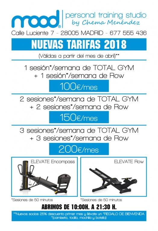 portfolio 1/9  - Tenemos la mejores tarifas de entrenamiento personal de Madrid.