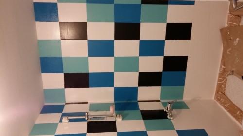 portfolio 7/7  - pintado de azulejos de baño