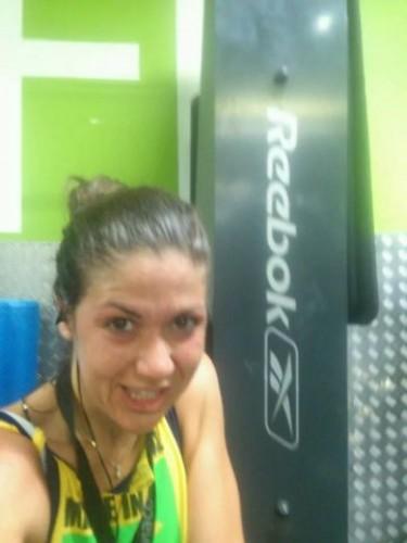 portfolio 22/34  - entrenando en gym