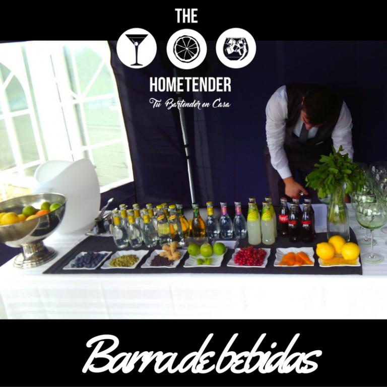 portfolio 1/10  - Barra de bebidas, refrescos, vino, cerveza, zumos.