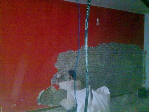 portfolio 29/30  - 1-Restauracion de muro de ladrillo