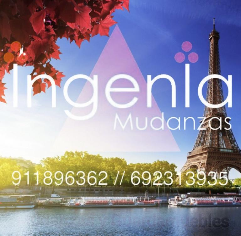 portfolio 32/42  - Este Otoño... Ingenia Mudanzas te lleva a París - Francia...