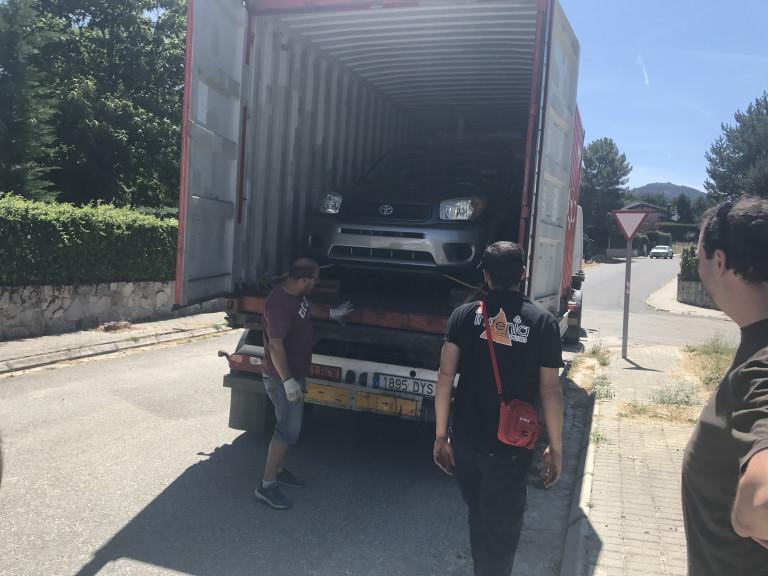 portfolio 27/42  - Transporte de Vehículo, desde Puerto Rico hasta España
