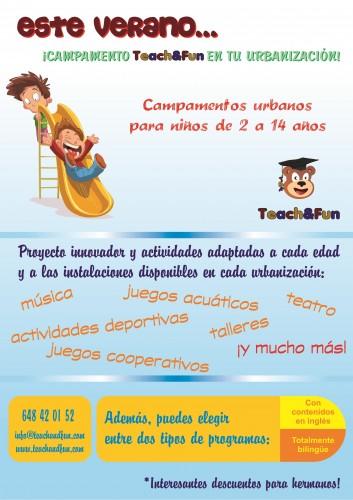 portfolio 1/5  - Teach&Fun Campamentos En Urbanizaciones