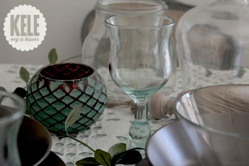 """portfolio 57/143  - Estilismo de Interiores en """"Mesa estilo Verde agua"""" para fiesta privada."""