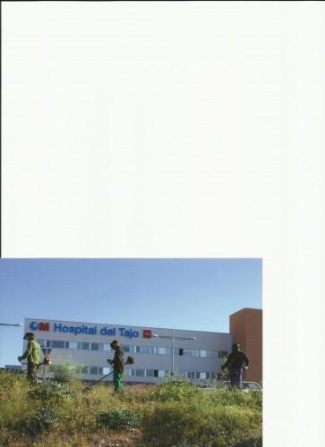 portfolio 11/19  - desbroce en el hospital del tajo
