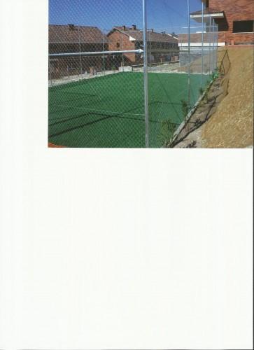 portfolio 18/19  - vallado de pista deportiva e instalacion de césped