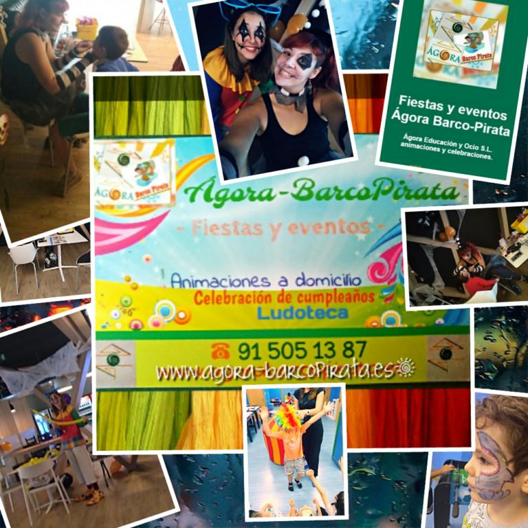 portfolio 7/17  - Fiestas y eventos Ágora-BarcoPirata