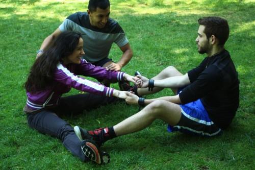 portfolio 2/5  - Compartir el deporte con otra persona es una buena forma de afianzar los lazos.