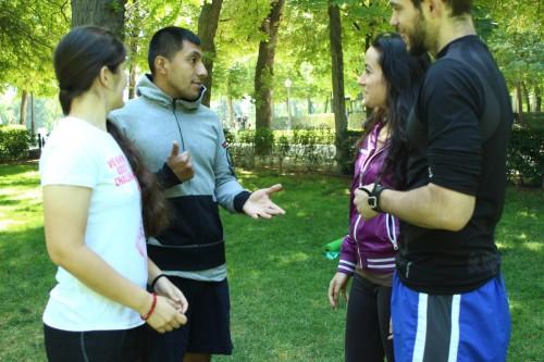 portfolio 3/5  - La comunicación como herramienta principal para un buen entrenamiento.