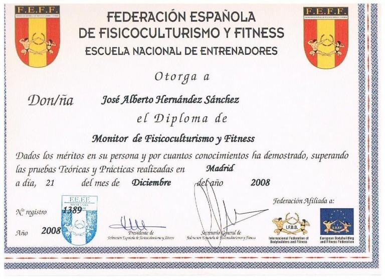 portfolio 2/5  - MONITOR DE FISICOCULTURISMO Y FITNESS