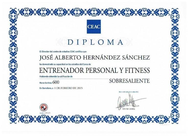 portfolio 4/5  -  ENTRENADOR PERSONAL