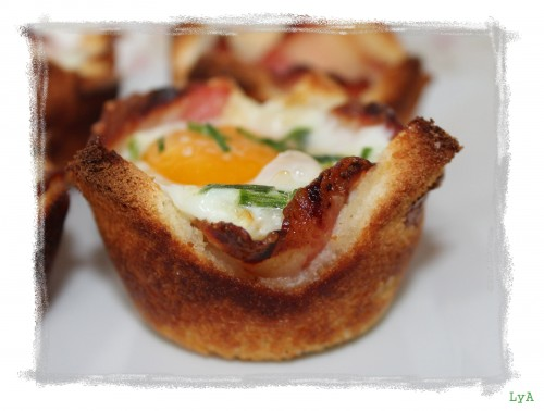 portfolio 3/35  - Croque madame muffin