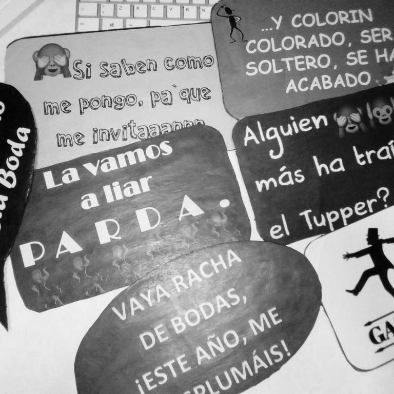 portfolio 18/20  - Pizarras y carteles con frases divertidas